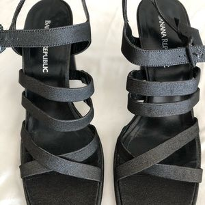 Strappy high heal ladies dress shoes